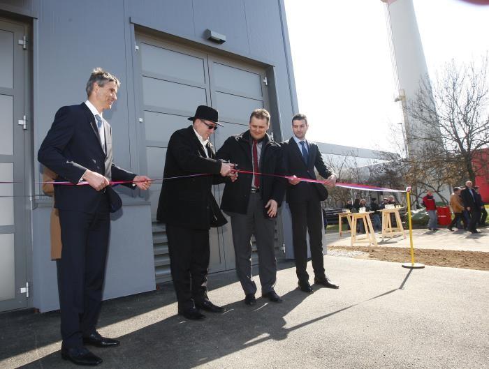 Otvoritev naprave za soproizvodnjo toplote in električne energije